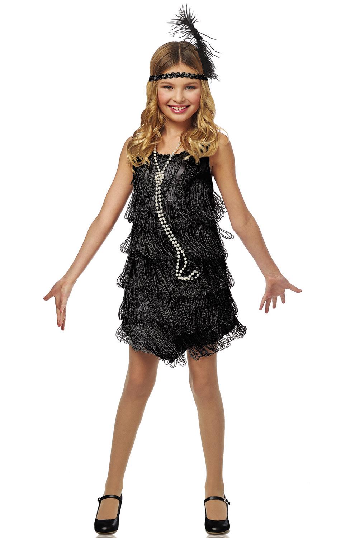 Black Flapper Child Costume Purecostumes Com