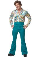 70's Dude Adult Costume (Green)