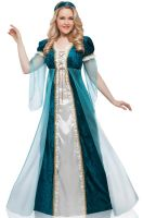 Emerald Juliet Plus Size Costume