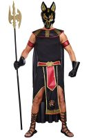 Anubis, God Of The Underworld Adult Costume