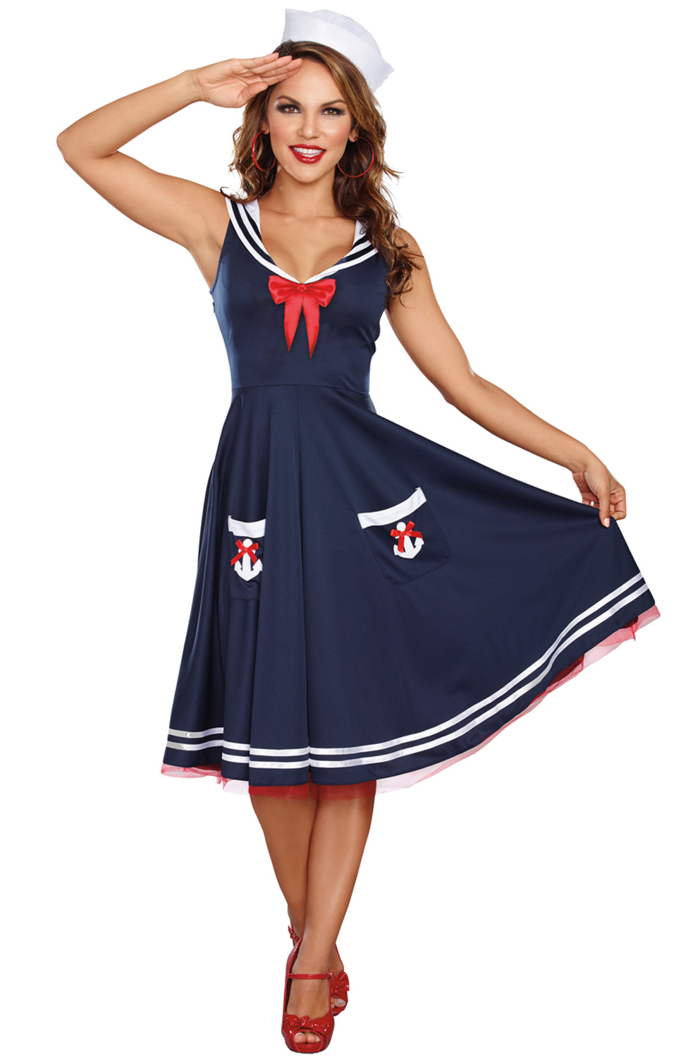 All Aboard Plus Size Costume