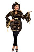 Golden Geisha Plus Size Costume