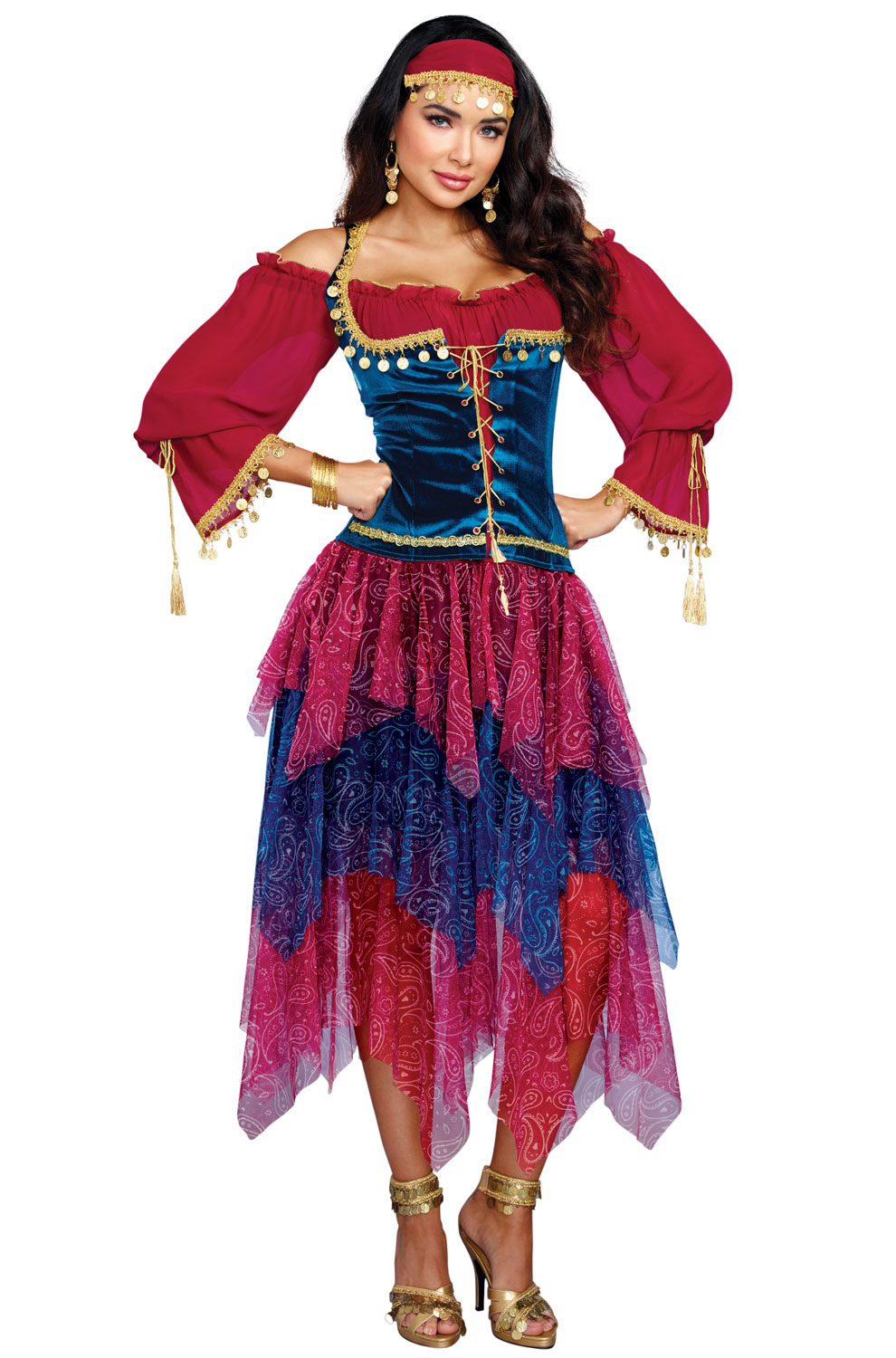 gypsy adult costume  purecostumes