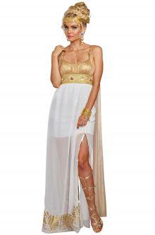 Greek costumes ancient spartan mythical goddesses ideas athena adult costume solutioingenieria Choice Image