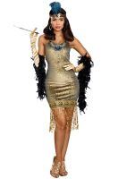 Golden Girl Adult Costume