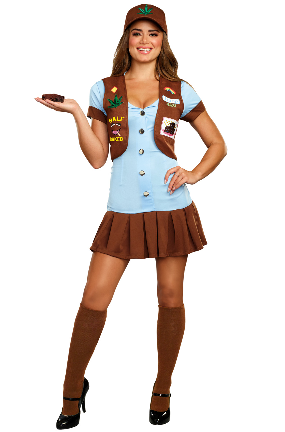 Sexy girl scout