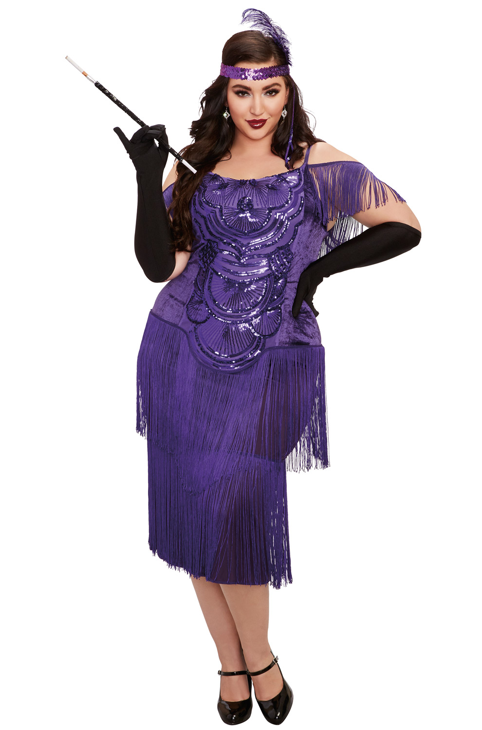 Details about Brand New Miss Ritz 1920s Flapper Plus Size Costume