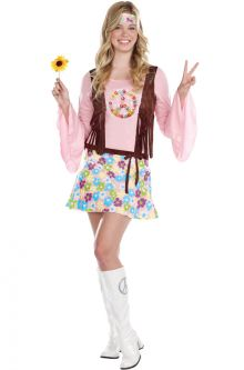 Peace Baby Teen Costume  sc 1 st  Pure Costumes & Teen 70u0027s Costumes - Teen 1970s Costumes - 1970u0027s Halloween Costumes ...