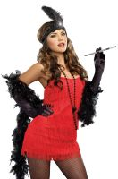 Basic Flapper Costume (Red)