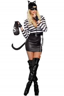 Taylor Swift Reputation Tour Costume Ideas Cat Burglar Adult Costume
