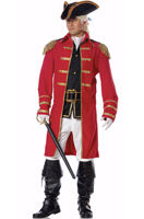Red Coat Adult Costume