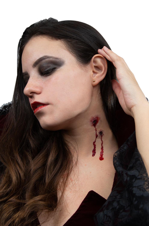 Vampire Bite Prosthetic