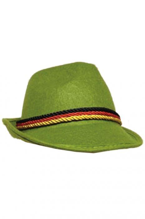 b97b28fb Green Oktoberfest Hat - PureCostumes.com