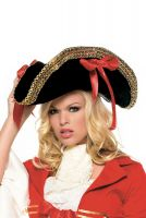 Women's Deluxe Pirate Hat