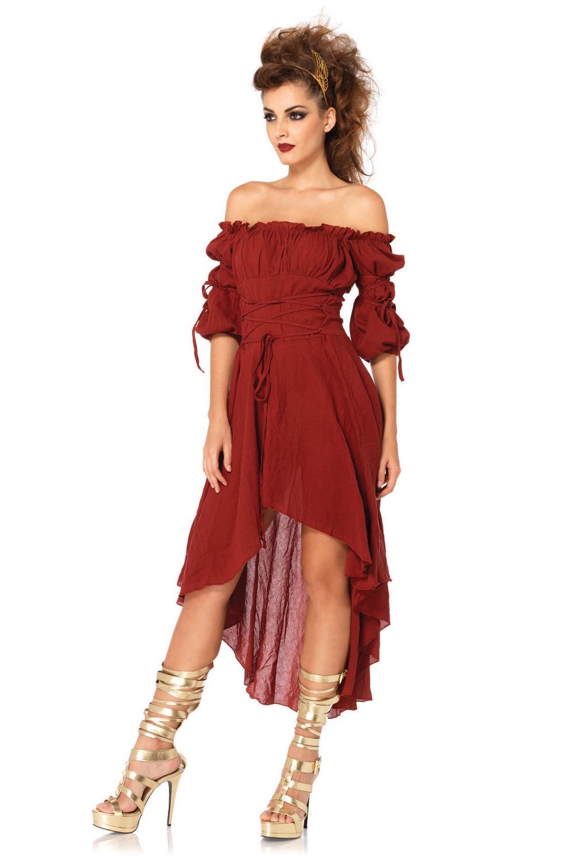 Renaissance Peasant Dress Adult Costume Purecostumes Com