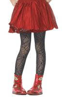 Girls' Spider Web Tights