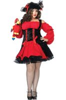 Vixen Pirate Wench Plus Size Costume