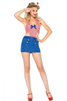 Shore Leave Sailor Adult Costume  sc 1 st  Pure Costumes & Adult Sailor Costumes - PureCostumes.com