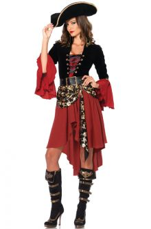 Expensive vs Affordable Costumes Cruel Seas Captain Adult Costume