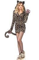 Cozy Leopard Adult Costume