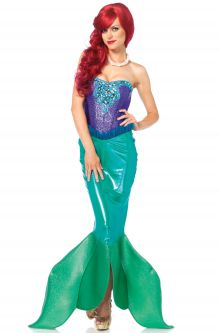 Expensive vs Affordable Costumes Deep Sea Siren Adult Costume
