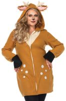 Cozy Fawn Plus Size Costume