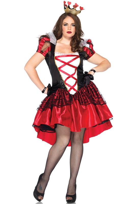alice red queen dress