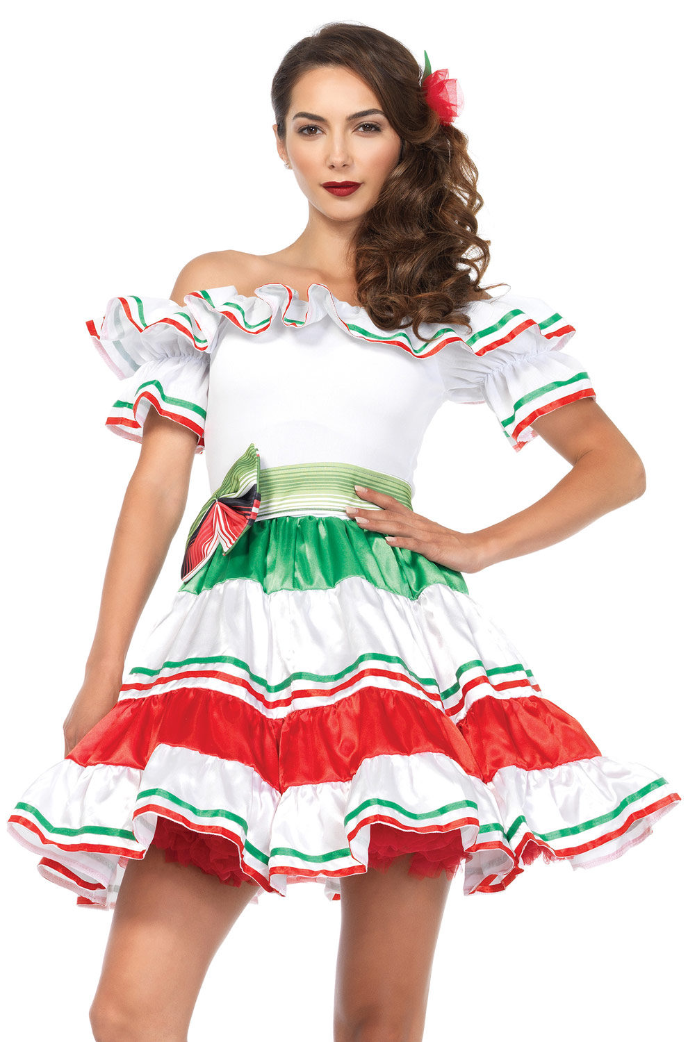 Not sexy mexican girl outfit has