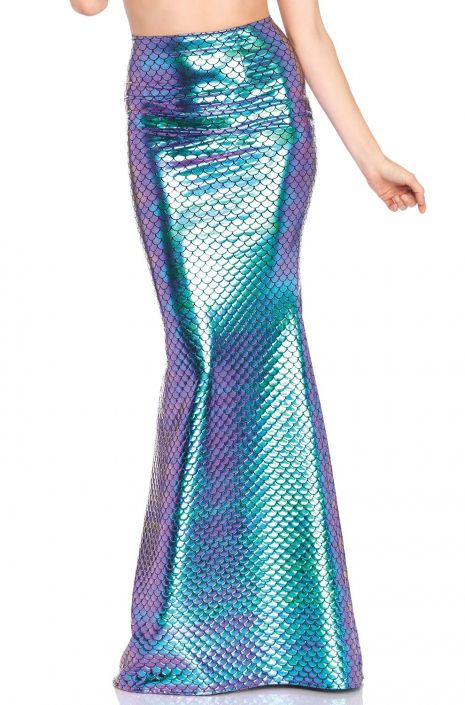 Iridescent Scale Mermaid Skirt Adult Costume  sc 1 st  Pure Costumes & Iridescent Scale Mermaid Skirt Adult Costume - PureCostumes.com