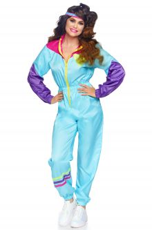 741816695d27 Women's Totally Awesome 80s Ski Suit Adult Costume
