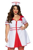 Hospital Honey Plus Size Costume