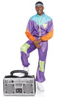 Men's Totally Awesome 80s Ski Suit Adult Costume