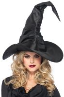 Large Ruched Witch Hat