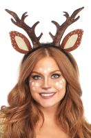 Fawn Ear Antler Headband