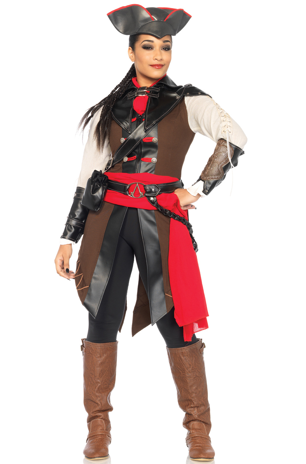 Assassin S Creed Aveline Adult Costume Purecostumes Com