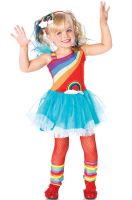 Rainbow Doll Toddler Costume