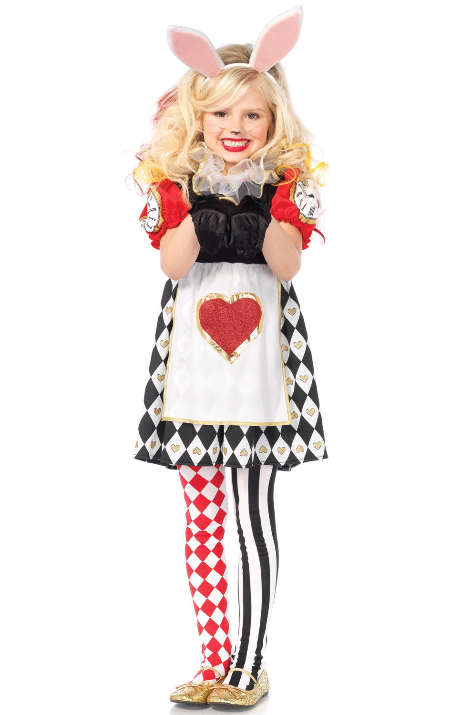 Wonderland Rabbit Child Costume  sc 1 st  eBay & Brand New Alice in Wonderland Rabbit Child Costume | eBay