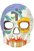 Day of the Dead Masquerade Mask (Multi)