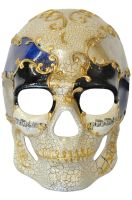 Musical Pieces Skull Mask (Blue)