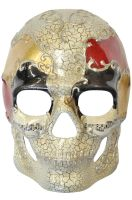 Musical Pieces Skull Mask (Blue/Black)