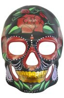 Mysterious Rose Day of the Dead Mask