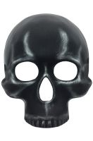 Metallic Skull Mask (Silver)