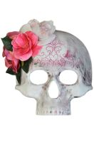 Romantic Filigree Skull Mask