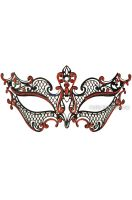 Royal Guard Venetian Mask (Black/Red)
