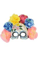 Ethereal Garden Day of the Dead Mask