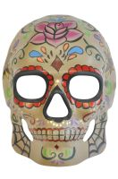 Antique Cobweb Day of the Dead Mask