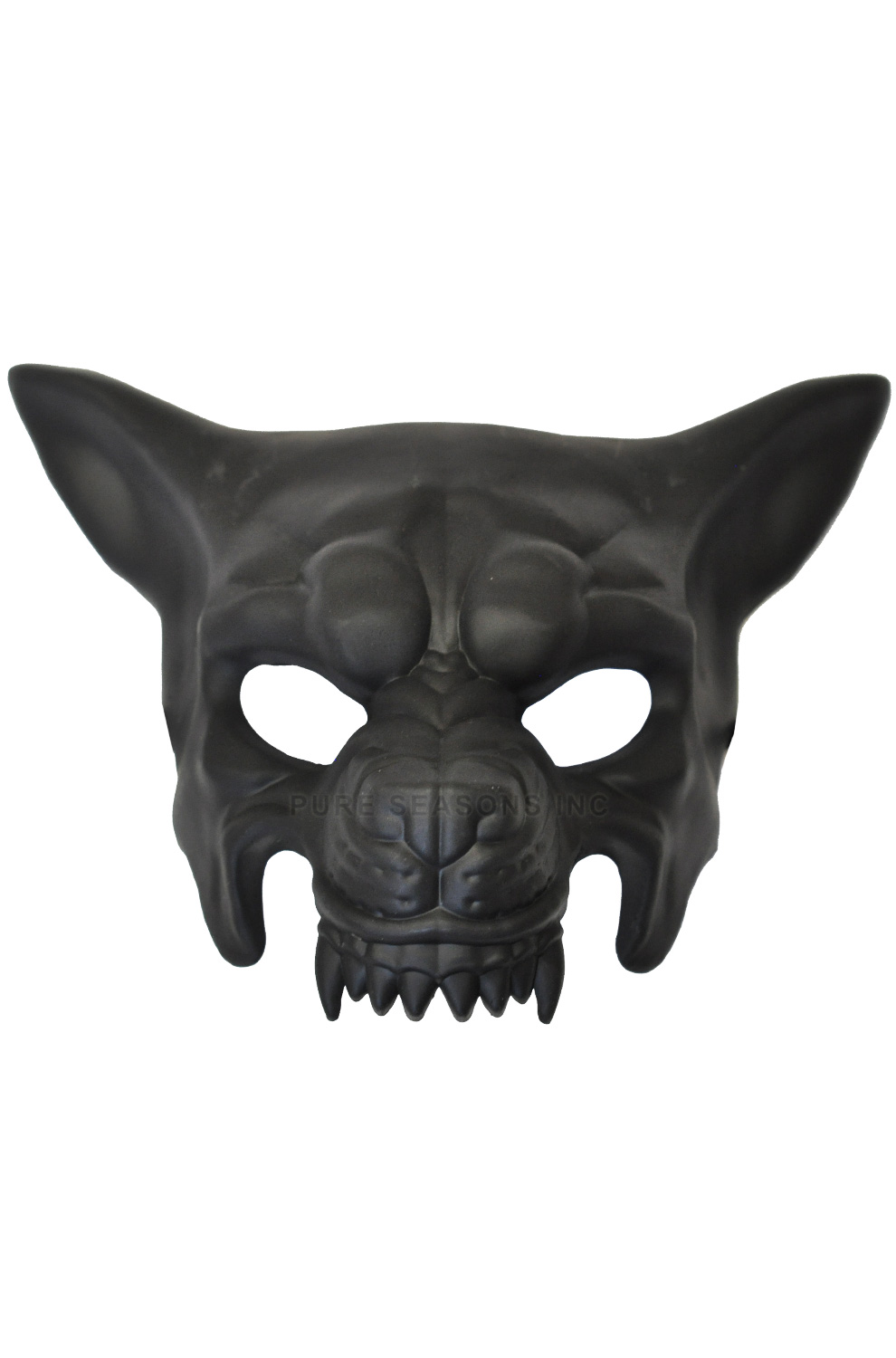 Armored Wolf Mask Black Purecostumes Com