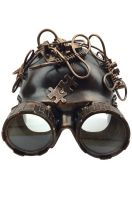 Steampunk Goggles Helmet (Copper)
