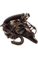 Steampunk Pantalone Mask (Copper)