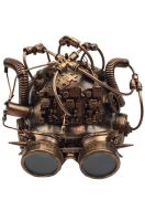 Mad Science Steampunk Mask (Copper)